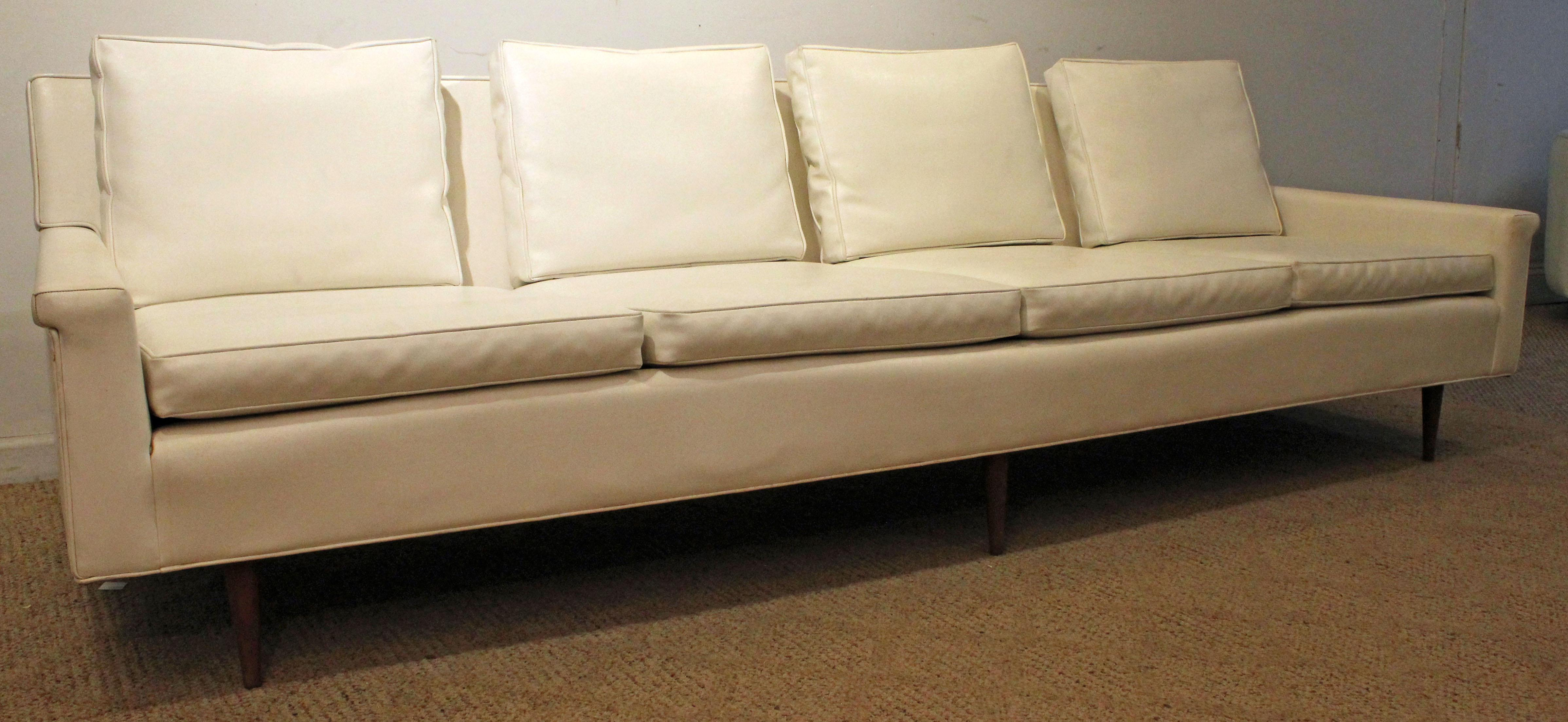 mid century danish modern couch. Offered Is A Vintage Mid-Century Danish Modern Milo Baughman Thayer Mid Century Couch