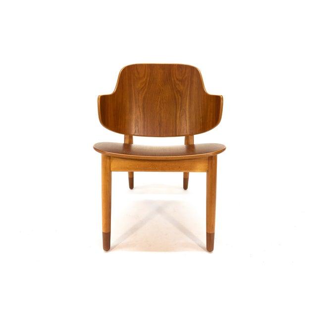Kofod Larsen Teak Shell Lounge Chair - Image 5 of 7