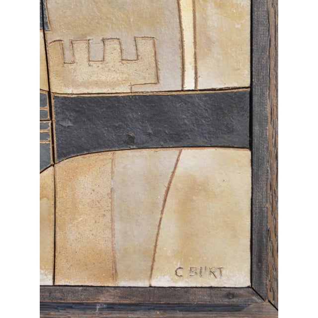 Ceramic Wall Relief by Clyde Burt - Image 4 of 5