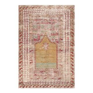 "Antique Oushak Ghoirdes Rug 3'10"" X 5'8"" For Sale"