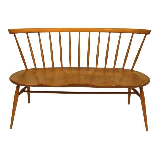 1950's Windsor Loveseat by Lucian Ercolani For Sale
