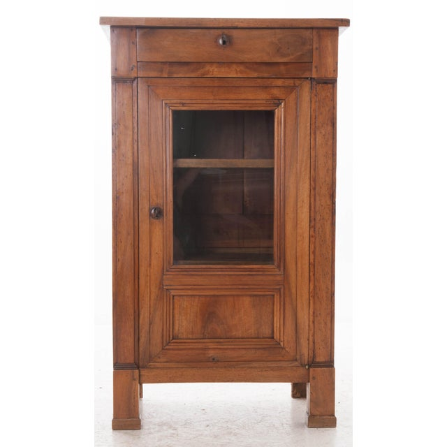 French 19th Century Walnut Vitrine - Image 2 of 10