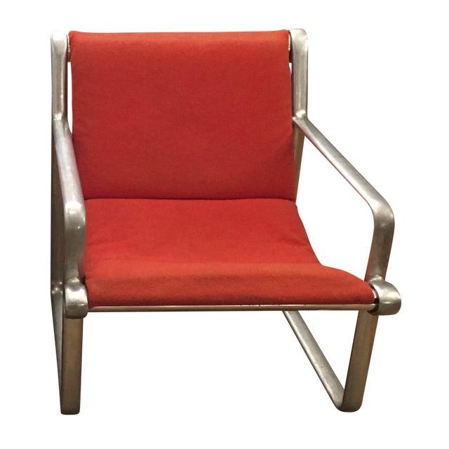 Vintage hannah morrison 70s lounge chair for knoll chairish for Vintage 70s chair