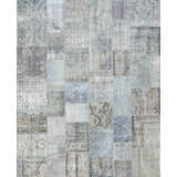 """Image of Turkish Overdyed Patchwork Rug - 8' 2"""" x 9' 10"""" For Sale"""