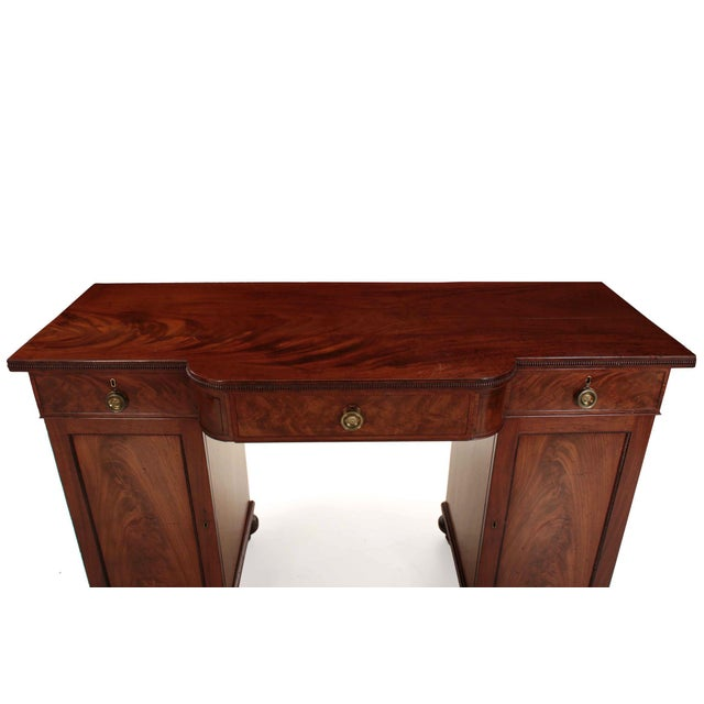19th Century English William IV Period Antique Sideboard Console For Sale - Image 6 of 11