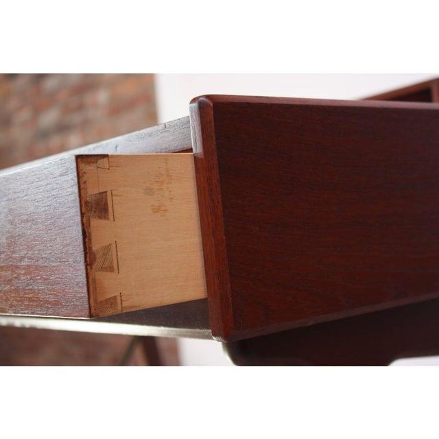 Teak and Brass 'Ladies' Desk by Arne Wahl Iversen - Image 11 of 13