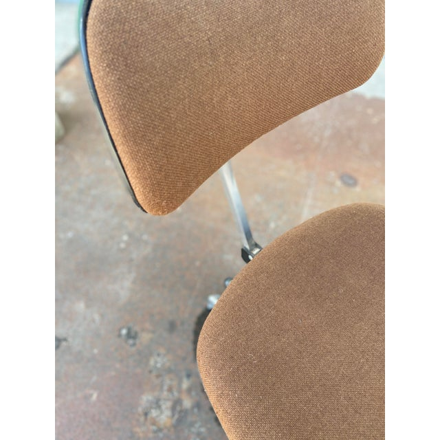 Mid-Century Modern Herman Miller Rolling Office Chair For Sale - Image 3 of 13