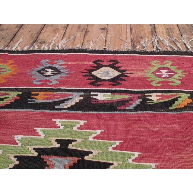 1960s Balkan Kilim For Sale - Image 5 of 8