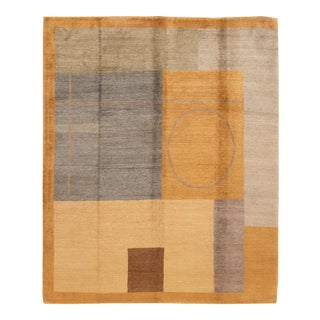 21st Century Contemporary Tibetan Wool Rug For Sale