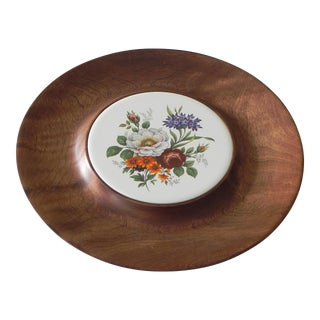 Woodward Wood & Tile Cheese Tray