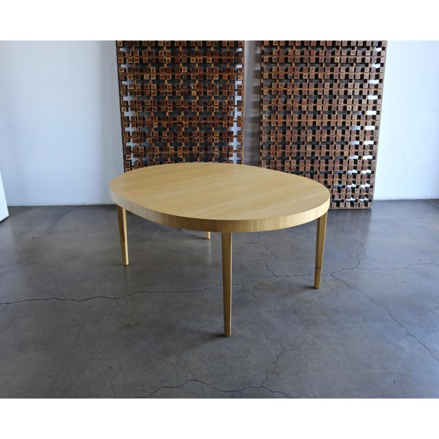 Edward Wormley Dining Table for Dunbar Circa 1950 For Sale - Image 9 of 13