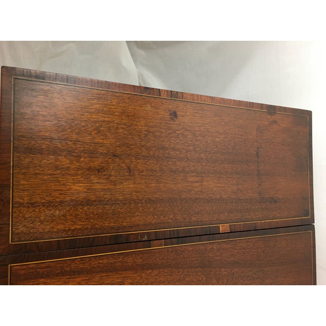 Early 20th Century Mahogany Vanity For Sale - Image 11 of 13