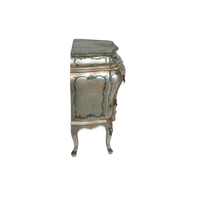 Hand Painted Italian-Style Commodes - Pair - Image 3 of 6