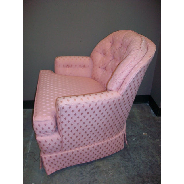 Vintage Pennsylvania House Button-Tufted Accent Chair - Image 3 of 5