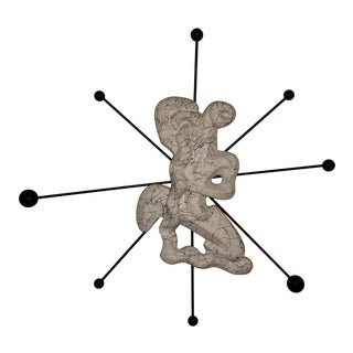 Vintage 1950's Frederick Weinberg Wall Sculpture