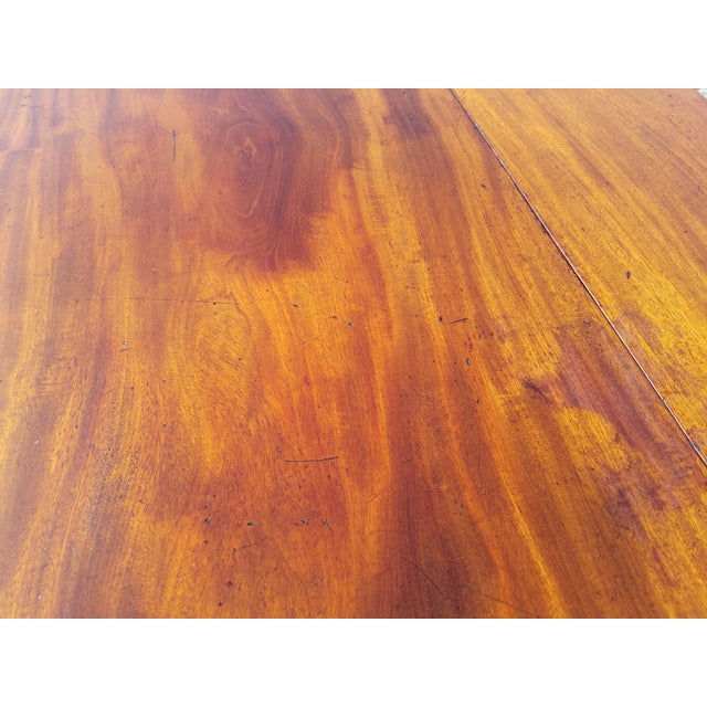 Late 18th Century Late 18th Century Americana Mahogany Pembroke Table For Sale - Image 5 of 9