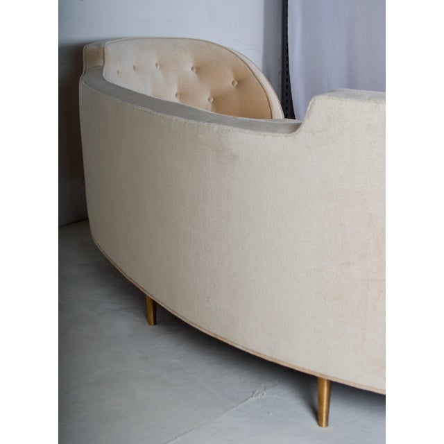 Oasis Sofa by Wormley for Dunbar For Sale - Image 9 of 13