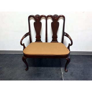 Hickory Chair Queen Anne Style Mahogany Bench / Settee Preview