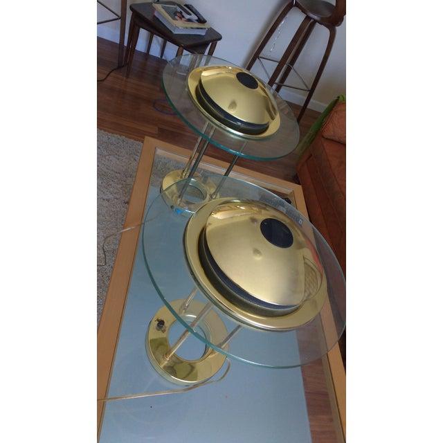 Kovacs Vintage Sonneman Kovacs Saturn Desk Lamp - A Pair For Sale - Image 4 of 7