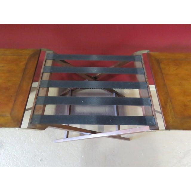 Baker Mahogany Butler's Convertible Buffet Table - Image 5 of 6