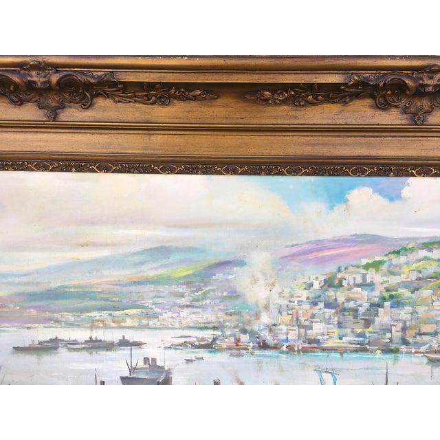 Vintage Victorian Picture Frame Painting For Sale - Image 10 of 13