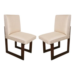 "Pair of Vladimir Kagan ""Nobu"" or ""Cubist"" Chairs For Sale"