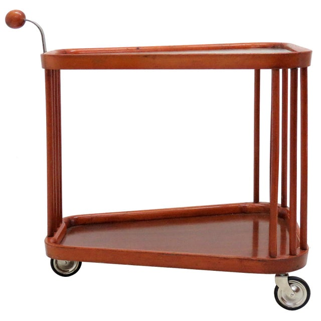 1960s Vintage Swedish Serving Cart For Sale - Image 11 of 11