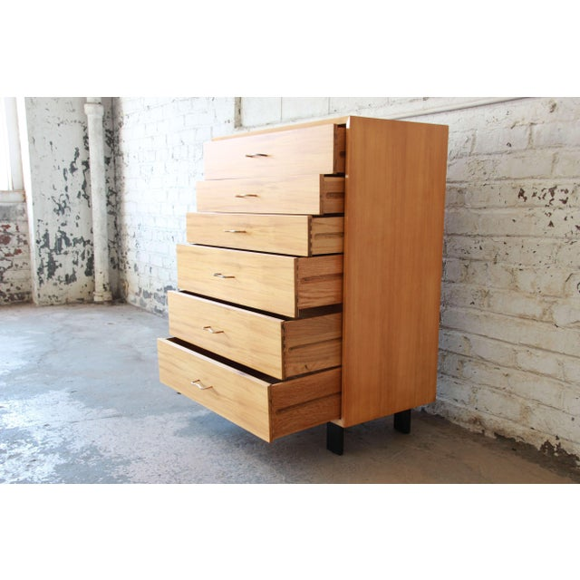 George Nelson for Herman Miller Highboy Dresser For Sale - Image 10 of 13