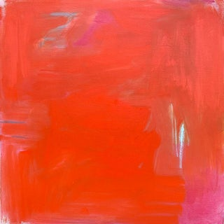 """""""Scarlet Zen"""" by Trixie Pitts Abstract Expressionist Oil Painting For Sale"""