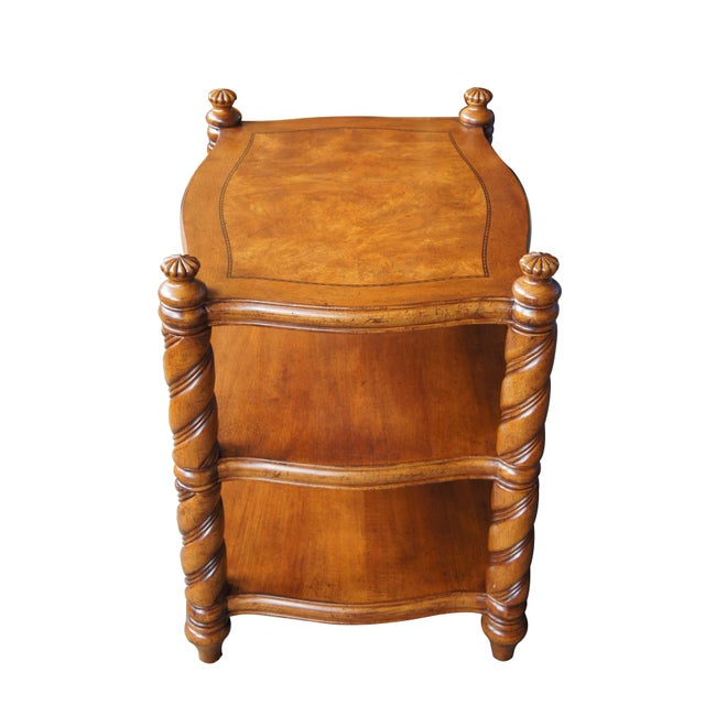 Thomasville British Gentry 3-tier table. Made in the early 21st century.