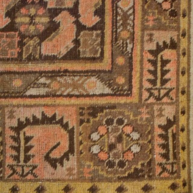 "19th Century Central Asian Khotan Carpet - 5'3"" x 10' For Sale - Image 4 of 5"