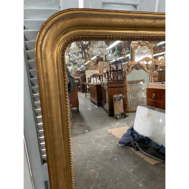 19th Century Grand Louis Philippe Mirror For Sale In Atlanta - Image 6 of 10