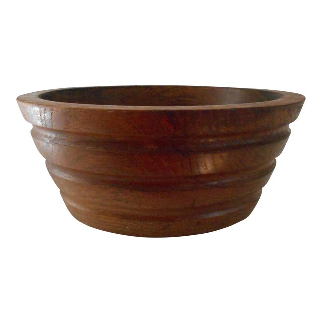 Vintage Teak Bowl - Image 1 of 7