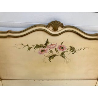 1960s French Provincial Louis Xbox Hand-Painted and Hand Carved Twin Headboards - a Pair Preview