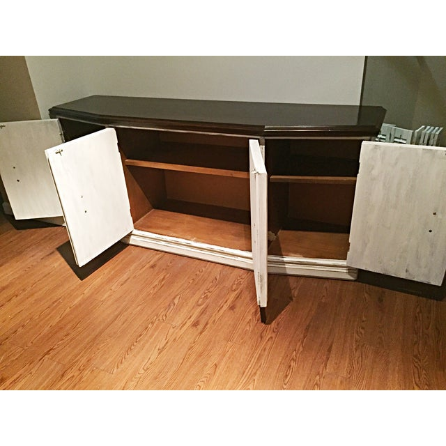 Distressed Wooden Sideboard Buffet - Image 8 of 9