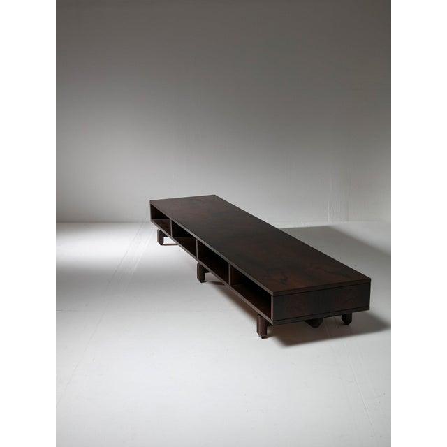 Wood Large Italian 60s Storage Unit For Sale - Image 7 of 7