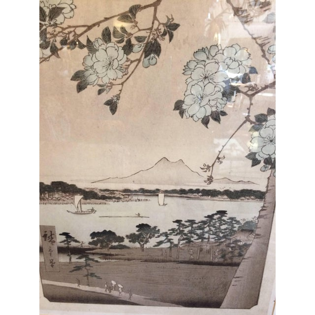 Asian Framed Prints From Trowbridge - a Pair For Sale - Image 4 of 9