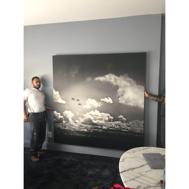 Realism Large Aviation Canvas Art For Sale - Image 3 of 4