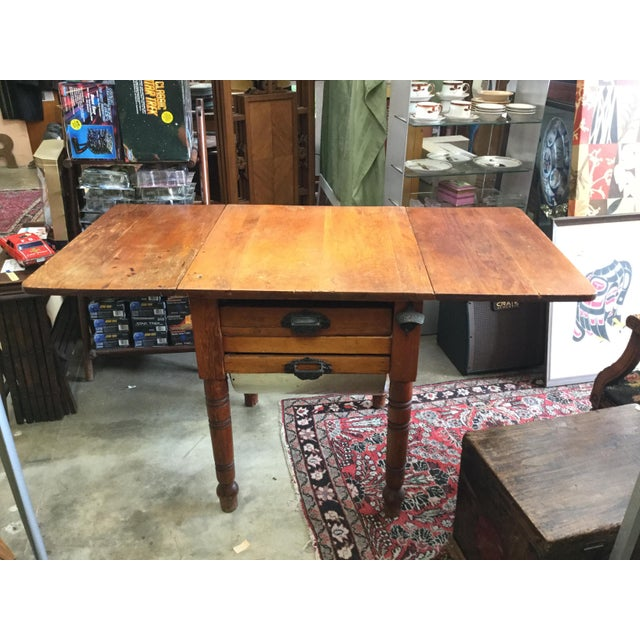 20th Century Country Flour Bin Table For Sale - Image 13 of 13