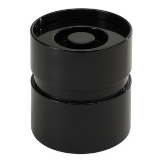 Ice Bucket in Licorice Black - Rita Konig for The Lacquer Company For Sale