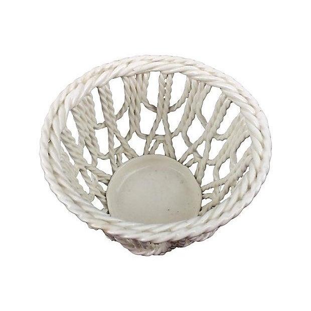 European Creamware Baskets - A Pair - Image 2 of 2