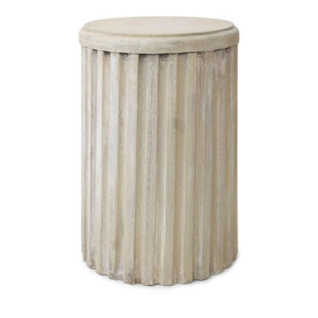 Two Painted Pedestal Tables For Sale In Houston - Image 6 of 12