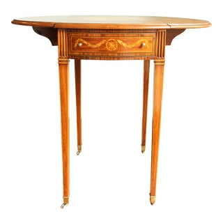 Queen Anne Maitland Smith Side Table For Sale