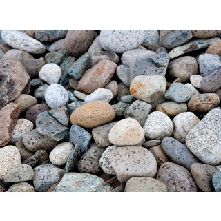 """""""Pebbles in the Rain"""" Contemporary Photograph by John Manno For Sale"""