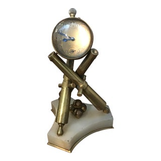 19th Century French Cannonball Clock For Sale