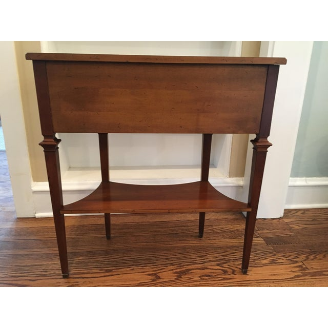Hekman Furniture Hekman Wood Accent Table For Sale - Image 4 of 10