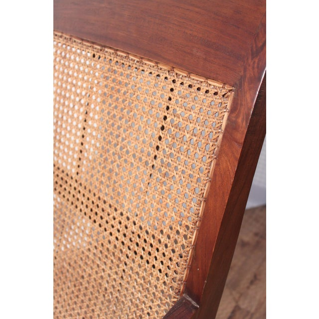 British Colonial Plantation Cane Chair - Image 5 of 8