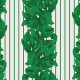 Image of House of Harris Llewellyn Wallpaper, 30 Yards, Green For Sale