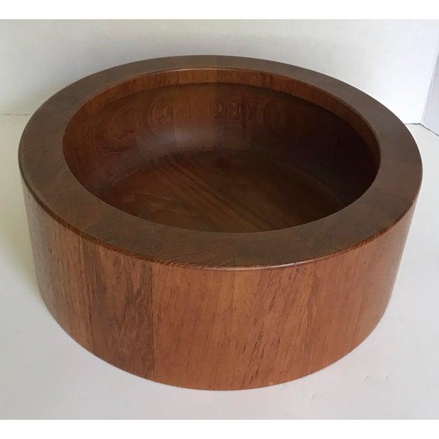 Mid 20th Century Vintage Dansk Jens Quistgaard Teak Bowl For Sale - Image 5 of 5