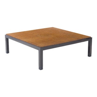 1940s Mid-Century Modern Edward Wormley for Dunbar Cork Coffee Table For Sale